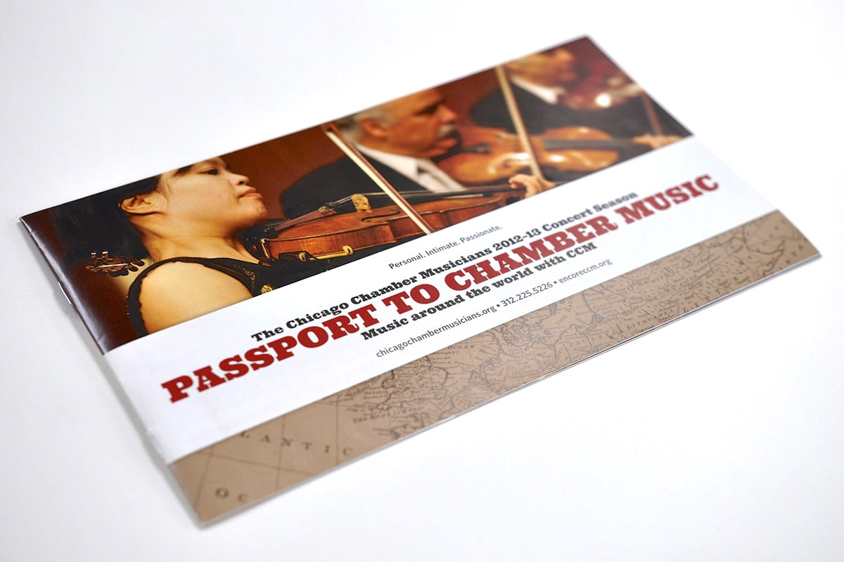 Chicago Chamber Musicians 2013 Brochure