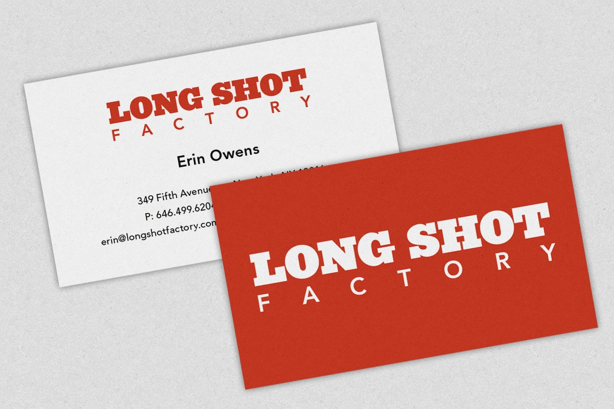 Long Shot Factory Business Cards