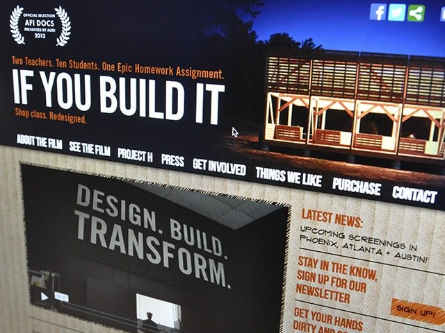 If You Build It Web Site