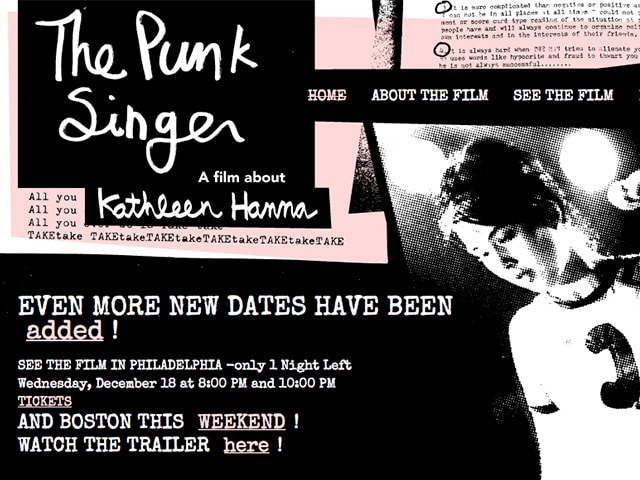 The Punk Singer Web Site